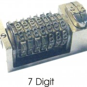 Type High 7 Digit Machine